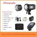 Godox AD600 Pro WITSTRO все-в-одном наружная вспышка AD600Pro TTL HSS со встроенной 2 4G беспроводной системой X + Xpro-N триггер для Nikon