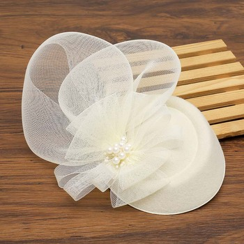 Kerri Bowler Hat Fascinator – Ivory