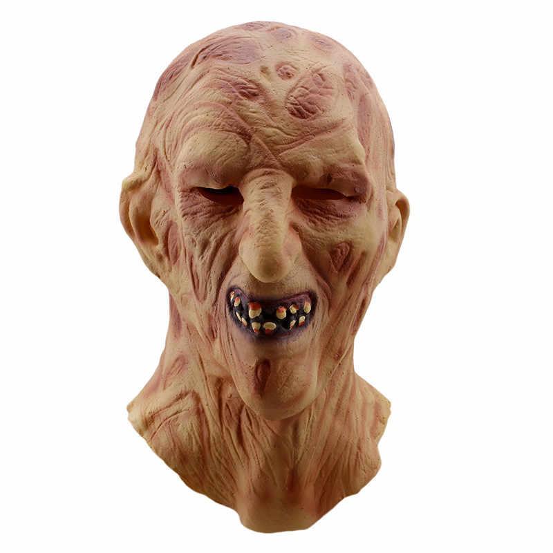 新しいマスクハロウィンホラースカルコスチュームアクセサリー流血怖い非常に嫌なフルフェイスマスク衣装パーティーコスプレプロップ