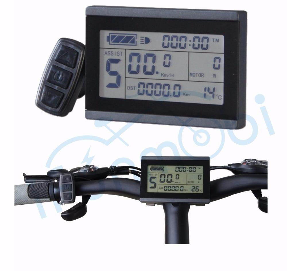 IFunMobi 24V 36V 48V 60V 72V Ebike LCD3 Display Panel For Electric Bicycle/bike Motor Controller Conversion Kit Parts