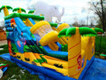 (China Guangzhou) manufacturers selling inflatable slides, inflatable castles,  The new slide CB-98