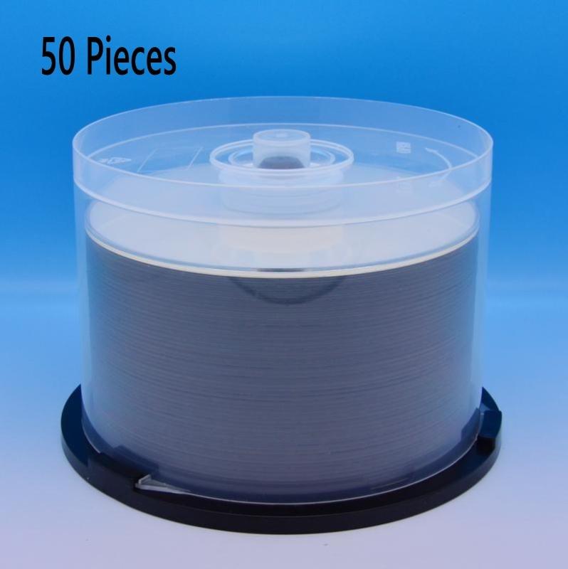 50 Pieces CMC 25GB BD R 2 12X Speed A Grade Printable Blu ray Blank BDR