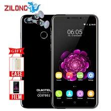 "Original Oukitel U20 Plus Dual camera Smartphone 5.5"" IPS FHD MTK6737T Quad Core Fingerprint ID 13MP 3300mah 2G+16G Mobile phone"