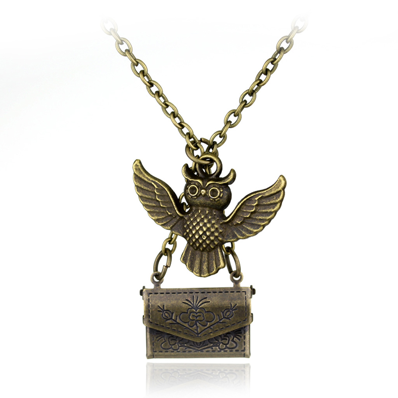 HP Acceptance Letter Owl Pendant Necklace Post Mail Service Delivery