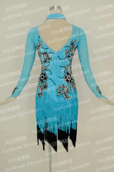 Высококачественное платье для латиноамериканских танцев, платье для латинских танцев с бахромой, платье для латиноамериканских танцев бальное платье для девочек, платье для танго сальсы, танец самба, Одежда для танцев