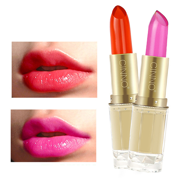 Temperature Cherry Liquid Lipstick Moisturizing Changing Color Lipgloss Blossom Red Lip Gloss Beauty