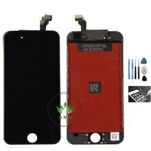 Para iphone 6 6 plus pantalla lcd pantalla 4.7 o 5.5 pulgadas Para Iphone6 Pantalla Lcd Y Montaje Del Digitizador Del Tacto negro blanco