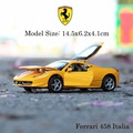 Alta Simulación de Metal Tira Del Coche Modelo de Juguete, 1/32 Escala Coche Fundido a presión, small car toys for boys