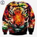 Mr.1991INC Большой тигр печатных кофты мужчины/женщины 3d толстовки животных осень топы прекрасный galaxy толстовки тонкий S-XL