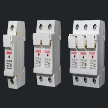 все цены на fuse box 500V 32A 63A fuse holder With lamp RT18-32X/63X 1P 2P 3P 4P fuseholder free shipping онлайн