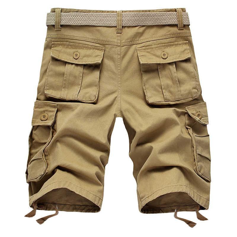 Pantalones Cortos Con Diseno Militar Para Hombre Bermudas Informales De Trabajo A La Moda Pantalones En General De Talla Grande Para Playa Sin Cinturon Para Verano Bermuda Shorts Men Bermuda Shortsfashion Shorts Men