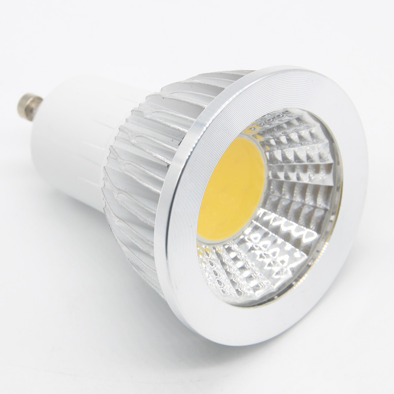 10PCS Lampada De LED Lamp GU10 220V Ampoule LED Spotlight GU5.3 110V COB Bombillas LED Bulbs Light Bulb Lamparas 3W 5W 7W