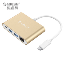 ORICO Aluminum HUB Type-C to Type-A / Type-C / HDMI Converter Support PD Multi Function Laptop Station for MACbook PC