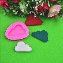 TTLIFE Cloud Silicone mold fondant cake decorating tools chocolate gumpaste baking cookie stencil