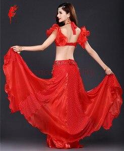 Image 3 - Nuovo Professionale di Danza Del Ventre Abbigliamento Le Donne Orientali costumi di Danza Del Ventre per le Prestazioni di danza del ventre vestito S M L