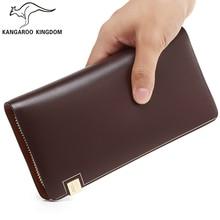 Kangaroo Kingdom Famous Brand Men Bag Leather Mens Clutch Bags Handbag