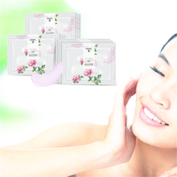LENI Silk Sleeping Eye Mask Ageless Eyelid Patch Anti Wrinkle Moisture Under Eye Puffy Remover Fine lines Eye Patch 8Pcs Creams