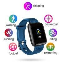 D13 спортивные Смарт-часы для мужчин и женщин для Android, Apple Phone, водонепроницаемый трекер сердечного ритма, кровяное давление, кислородные спор...