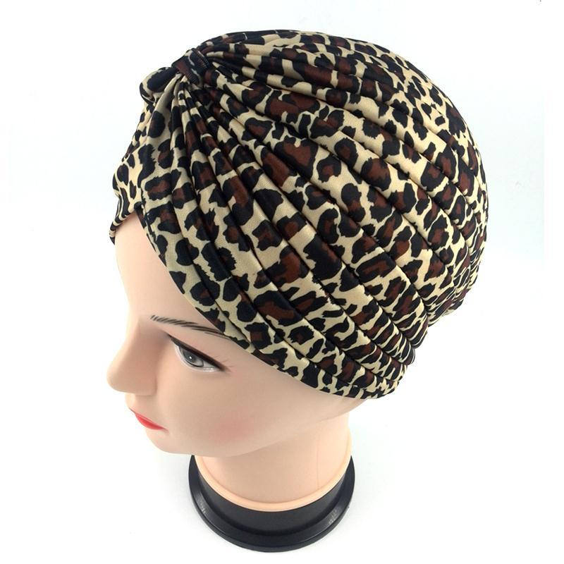 Stretchy Turban Head Wrap Band Sleep Hat Indian Cap Headscarf Muslim Headscarves