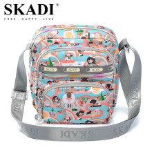 SKADI Waterproof Nylon Women Handbag Famous Brand Cartoon Messenger Shoulder Bags Mini Small Crossbody Channelled Bag Blosa