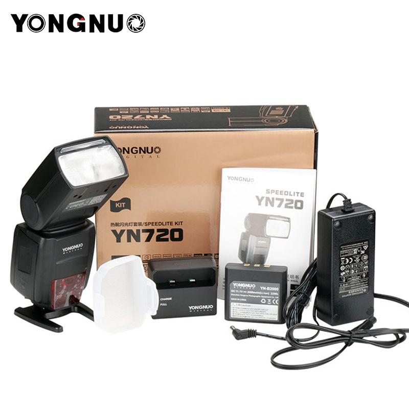 2018 Yongnuo Speedlite YN720 Flash avec 2000 mah batterie Au Lithium pour Canon Nikon Pentax, compatible YN685 YN560 IV YN560-TX RF605