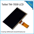 "New LCD Display Matrix For 7"" teXet X-pad Navi 7 3G TM-7059 Screen Tablet PC 163*97mm Monitor Repairment Parts Module"