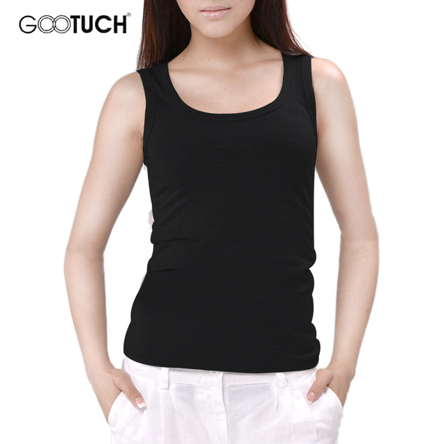 Womens Cotton Tank Tops Singlet Slim Bodyshaping U Neck Vest Plain White Plus Size Cotton Underwear Women 5XL 6XL Tanks 049 4