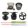 7x Feine filter & Schraube propeller & Vorstufen Tasse & Rotierenden pinsel rahmen & Vorläufer abdeckung & reinigung pinsel für hurom SBF11 etc