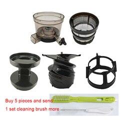 Filtro fino 7x y hélice de tornillo y taza de precursores y armazón de Cepillo giratorio y cubierta de Precursor y cepillo de limpieza para Hurom SBF11 etc