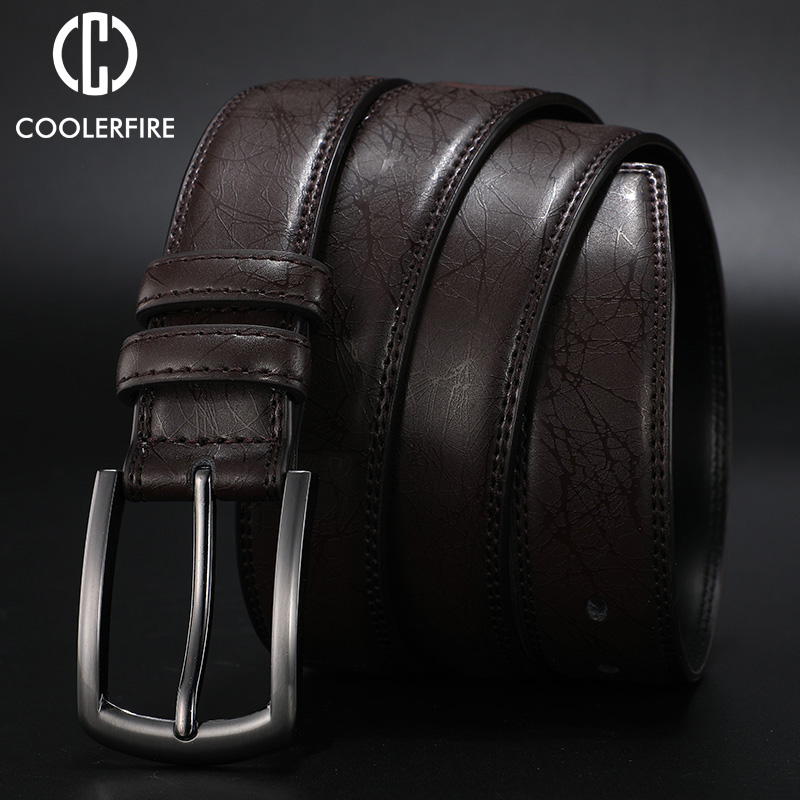 2019 Designers  Men Belts Genuine Leather Dress Casual Pin Buckle Business Belt For Man 2019 New Male Belt Luxury Strap HQ091