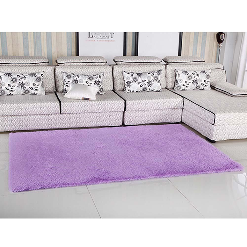 fluffy rugs anti skiding shaggy area rug dining room carpet floor mats purple shaggy rugs shag rugs a609 pmlin carpet from home u0026 garden on