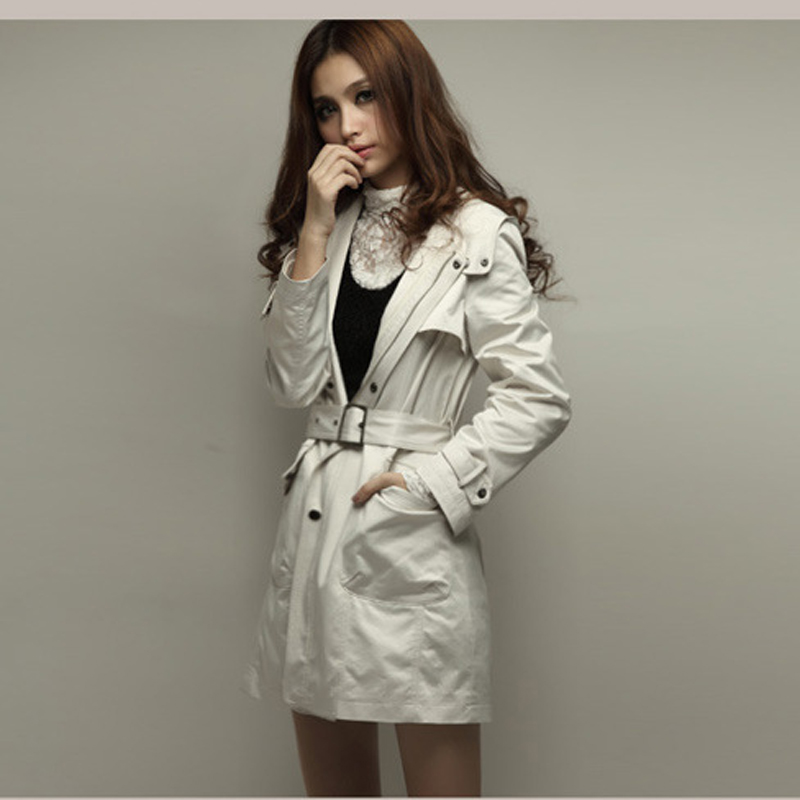 New Two Wear Winter Coats And Jackets Woman Nice Slim Hooded ...