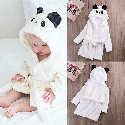 0-6Y Children Cartoon Robes Animal Boys Girls Flannel Pajamas sleepwear Baby Bathrobe Romper kids Home wear pijamas Cloak