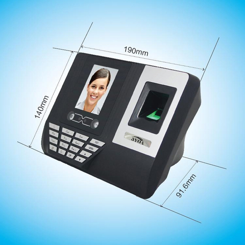 5YOA AF3 Biometric Face Facial Fingerprint Recognition Time Attendance System Machine Device Islamabad