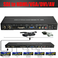 SDI,3G-SDI to HDMI/DVI/VGA/AV converter Scaler splitter Amsplifer up to 100M SDI to ALL video converter