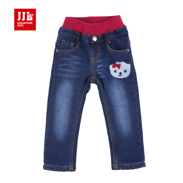 Новорожденных девочек джинсы детские брюки полноразмерный регулируемая талия супер-эластичный младенческой джинсы детские попы детская одежда