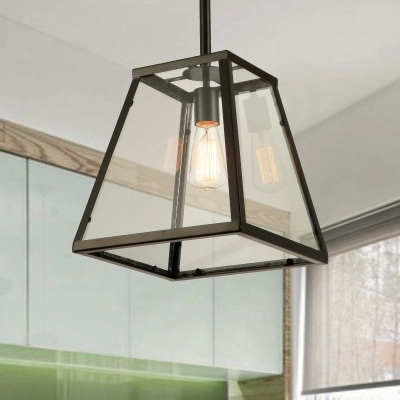 Здесь можно купить  American Vintage Iron bedroom box pendant light  e27 bulb lamp for dining room and restaurant with glass lampshade American Vintage Iron bedroom box pendant light  e27 bulb lamp for dining room and restaurant with glass lampshade Свет и освещение