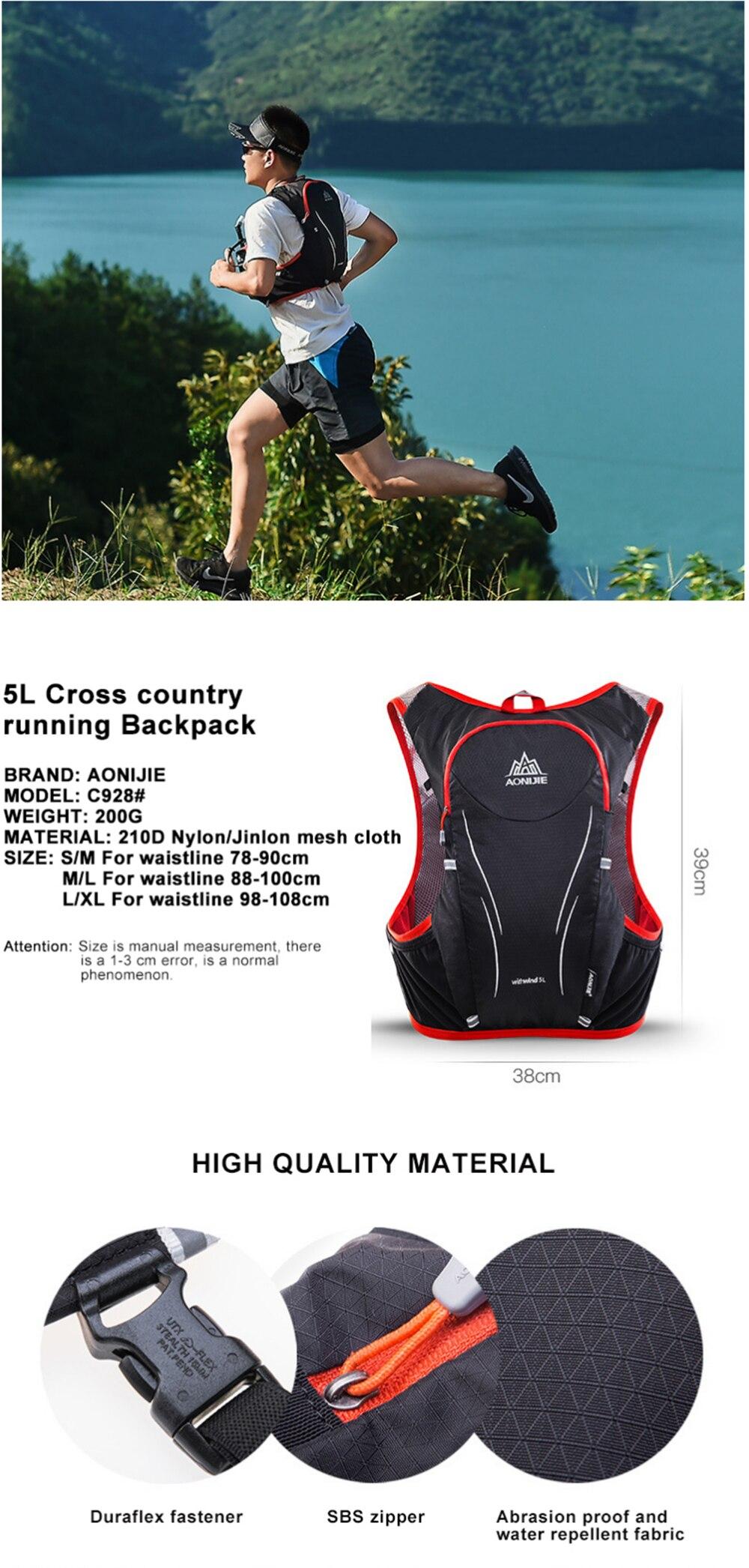 AONIJIE-5L-Women-Men-Marathon-Hydration-Vest-Pack_01