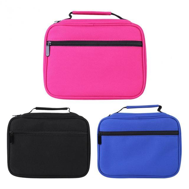 40 60 Slots Detachable Pen Storage Bag Handbag Drawing Pencils Pens Pouch Brush Holder Case