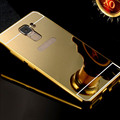 Phone case for Huawei Honor 7 Plated PC Mirror Case Back Cover Luxury Metal Aluminum Cases For Huawei Honor 7 with 4 colors