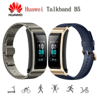 Новый huawei Talkband B5 смарт браслет Цвет Экран здоровья браслет наручные Bluetooth гарнитура полный Touch научных сна