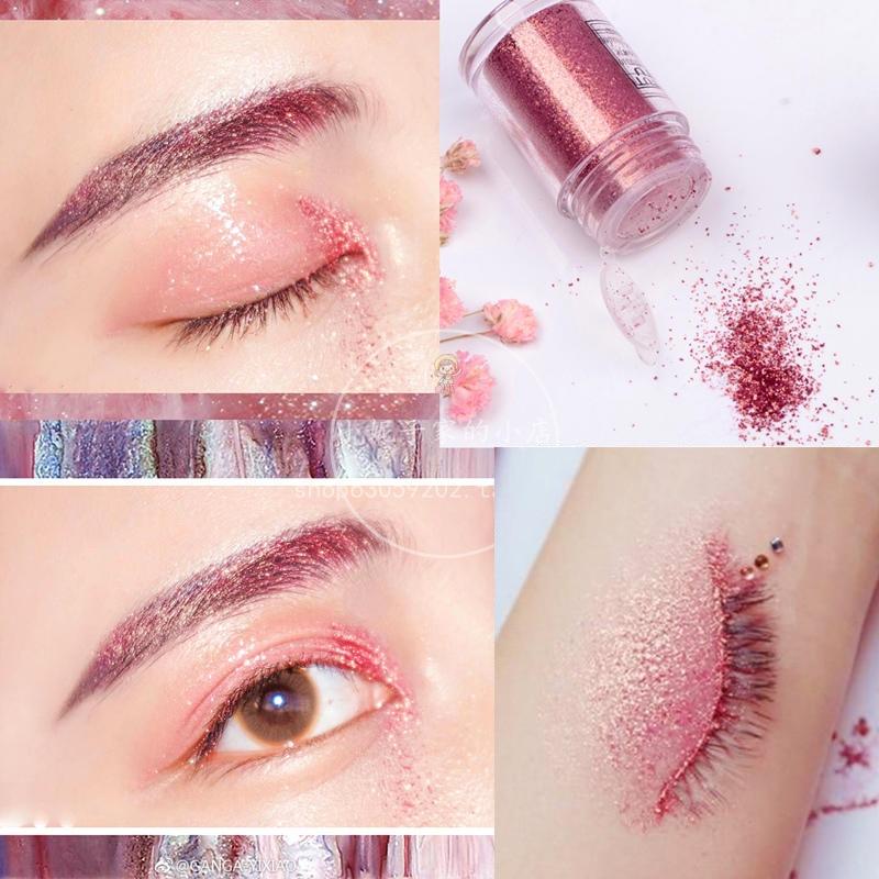 TUTU professzionális szem smink csillogó glitter egyszínű szemhéjfesték kozmetikumok 11 szín opcionális márka