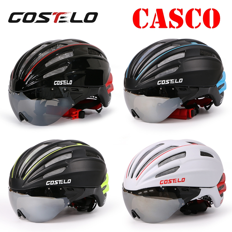 2016 costelo SPEEDairo Bicycle Cycling Helmet Bike Helmet Goggles Ciclismo Capacete para Bicicleta velo bici helmet glasses wholesale smart helmet intelligent cycling helmet bicicleta capacete casco ciclismo para ultralight safety helmet livall