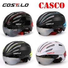 2016 costelo SPEEDairo Bicycle Cycling Helmet Bike Helmet Goggles Ciclismo Capacete para Bicicleta velo bici helmet glasses
