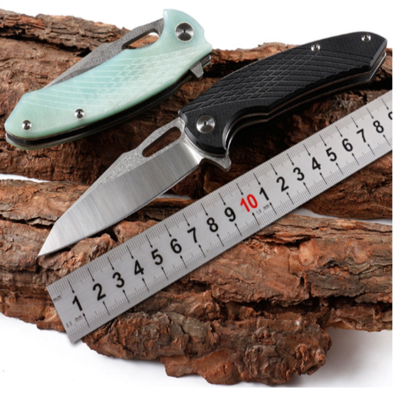 KESIWO new folding knife 9cr18mov blade G10 handle camping hunting survival pocket knives outdoor fishing knife EDC tools kesiwo k90 folding pocket knife 9cr18mov blade g10 handle utility sharp camping outdoor knife edc fishing fruit knife