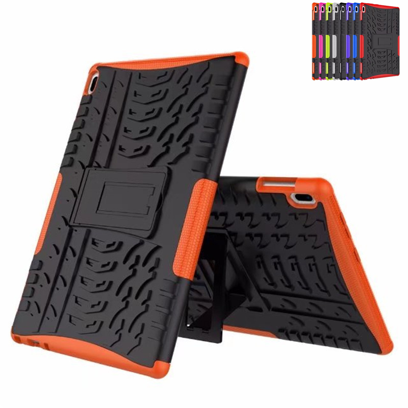 Case For Lenovo TAB4 Tab <font><b>4</b></font> <font><b>10</b></font> TB-X304L TB-X304F TB-X304N Cover Heavy Duty 2 in <font><b>1</b></font> Hybrid Rugged Durable Funda Tablet Stand Shell image
