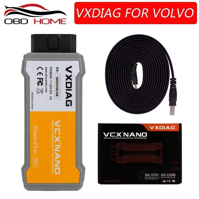 obd2Hot Sell 100 Original VXDIAG VCX NANO For Volvo Car Diagnostic Tool better Than For Volvo