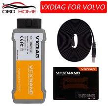 Obd2Hot продаем VXDIAG VCX NANO для Volvo автомобильный диагностический инструмент лучше, чем для Volvo Vida Dice 2014D