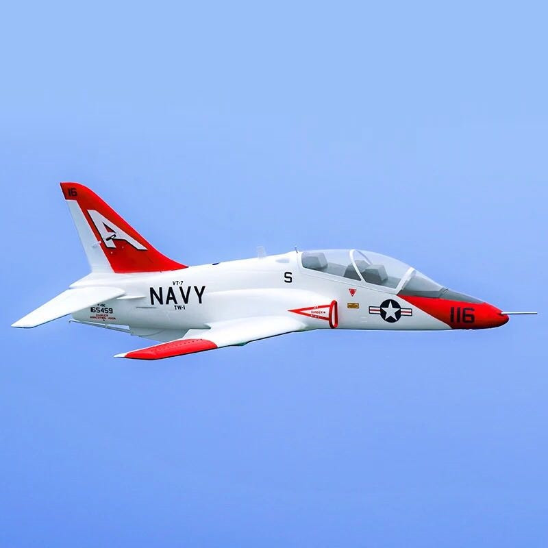 QT-MODEL T45 V2 EPO 960mm Wingspan RC Aircraft Scale Zoom Goshawk Carrier Fixed Wing KIT 70MM Ducted FanVS Z51 WLtoys F949 image