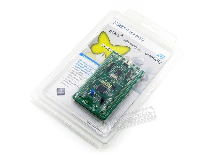 STM32F0DISCOVERY STM32F051R8T6 STM32F051 ARM Cortex-M0 STM32 Evaluation Development Board Discovery Kit Embedded ST-LINK/V2(China)